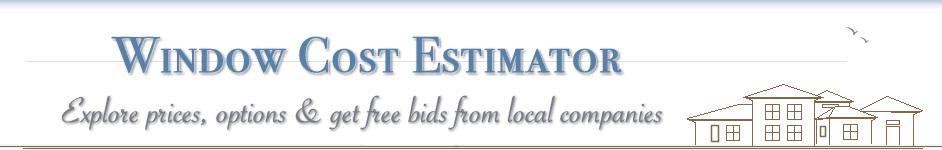 Window replacement cost estimator windows pricing calculator for Window replacement estimate
